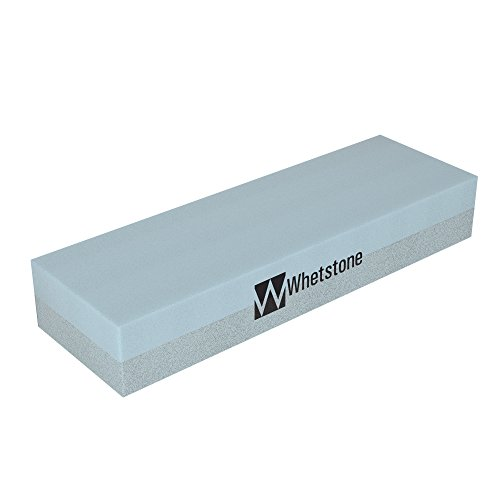 Whetstone Cutlery 20-10960 Knife Sharpening Stone-Dual Sided 400/1000 Grit Water Stone-Sharpener and Polishing Tool for Kitchen, Hunting and Pocket Knives or Blades by Whetstone