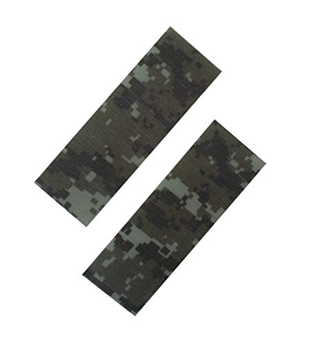 AOHOCA 2pcs G10 Camouflage Pattern Scale Slabs Handles Material,DIY Knife Sword Making Supplies Material
