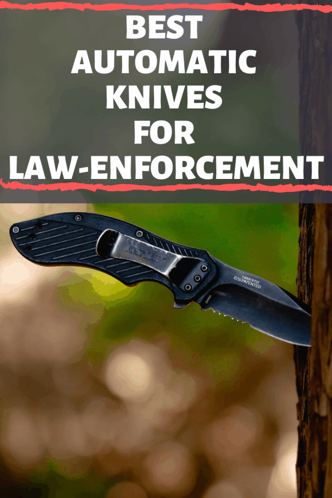 Best Automatic Knives for Law Enforcement